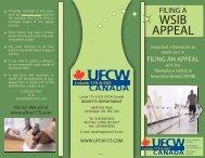 WSIB APPEAL - UFCW 175 & 633