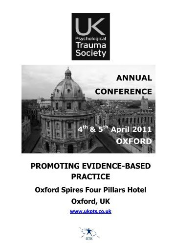annual conference oxford promoting evidence-based practice - ukpts