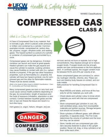 COMPRESSED GAS - UFCW 175 & 633