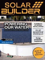 January/February 2012 - Solar Builder Magazine