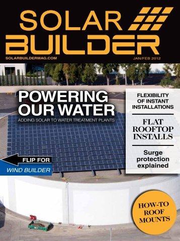 January/February 2012 - Solar Builder Magazine