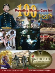 About Walter Reed Army Medical Center - DCMilitary.com