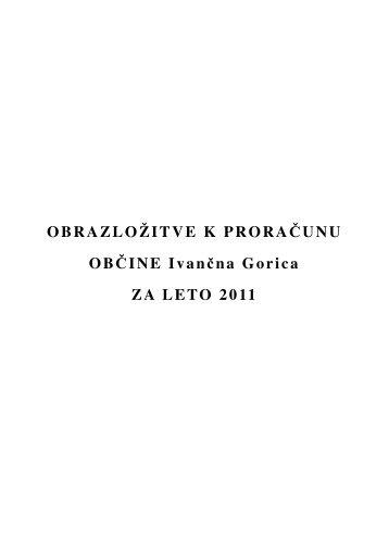 Obrazložitve - Občina Ivančna Gorica