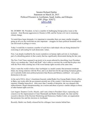 032615-Senator-Durbin-Statement-for-the-record-Political-Prisoners-in-Azerbaijan-Saudi-Arabia-and-Ethiopia