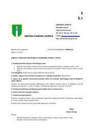 Predlog pravilnika o sprejemu otrok v vrtec in poročilo Vrtca Ivančna ...