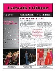 Fashion Fix Fashion Fix FASHION WEEK 2011: