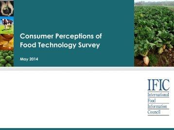 FINAL Full Report_IFIC 2014 Food Tech Survey