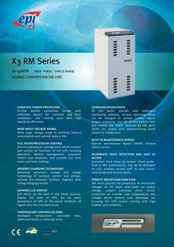 RM Series Brochure - Epi-ups.com
