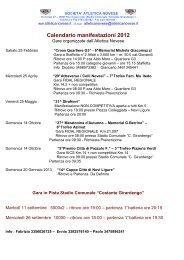 Info - Genova di corsa