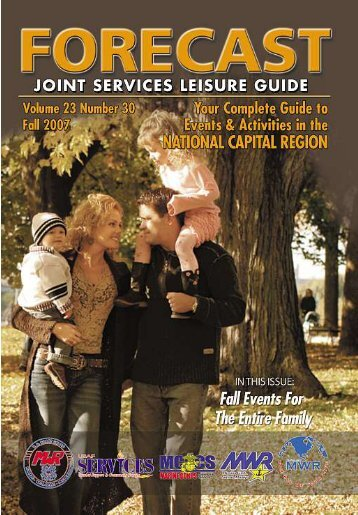 Forecast - Fall Joint Leisure Services Guide - DCMilitary.com