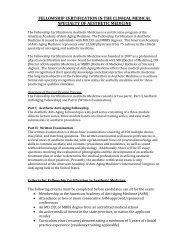 Fellowship Certification in Aesthetic Medicine - Worldhealth.net