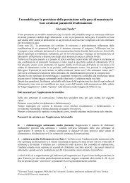 Modello per la previsione della prestazione nella ... - ePodismo.com