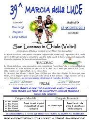 Locandina - Genova di corsa