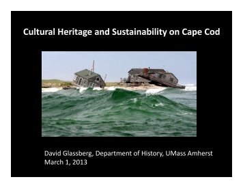 Cultural Heritage and Sustainability on Cape Cod.pdf