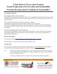 Cultural Heritage and the Challenge of Sustainability - University of ... - Page 2