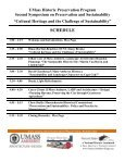 Cultural Heritage and the Challenge of Sustainability - University of ... - Page 3