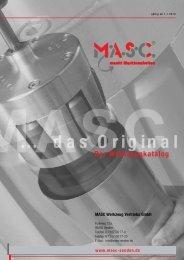 neuheit - MASC Werkzeug Vetriebs GmbH
