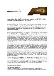 Pressemitteilung als PDF-Download - Sport1