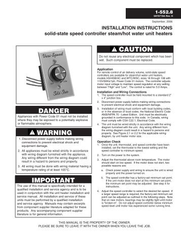 installation instructions solid state speed controller steam modine?quality\\\\\\\\\\\\\\\=85 fireplace electric heater wiring diagram fireplace wiring diagrams  at virtualis.co