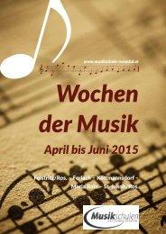 Wochen der Musik