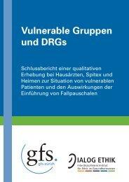 Vulnerable Gruppen und DRGs