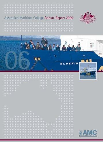 Australian Maritime College Annual Report 2006 06