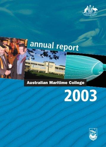 2003 AMC Annual Report