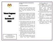 Tatacara Penggunaan dan Keselamatan ICT BHEUU