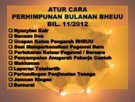 AHLI KUMPULAN EAC 16 Unit Sumber Manusia, BHEUU