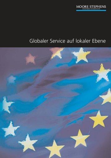 Mandantenorientierter Service mit  internationalem Blickwinkel