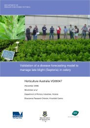 Validation of a disease forecasting model to manage late blight ...