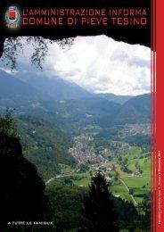 Anno V - Numero 2 - Dicembre 2011 - Comune di Pieve Tesino