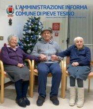 Anno VI - Numero 2 - Dicembre 2012 - Comune di Pieve Tesino