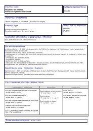 Fiche De Poste Respons Adm Pãle Santã Est Lyon 1pdf