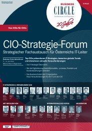 CIO-FOruM 2013 - Secretary ACADEMY