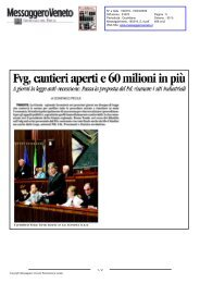 Messaggero Veneto N° 190319 - 19/03/2009 - 4 - la Presidente