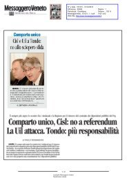 Messaggero Veneto N° 101231 - 31/12/2010 - 1 - la Presidente