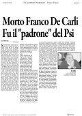 """Morto De Carli Fu il """"capo"""" dei socialisti - la Presidente - Page 2"""
