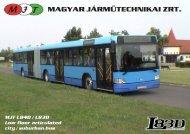 Bus/MJT L83-01D - Magyar Járműtechnikai Zrt.