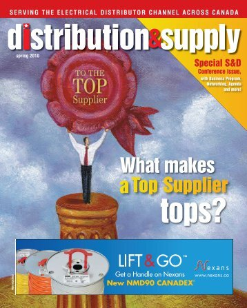 What makes tops? - Electrical Business Magazine