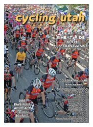 July 2007 Issue - Cycling Utah