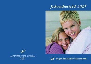 Jahresbericht 2007 - ZKF