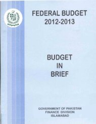 Budget in Brief 2012-13 - Ministry of Finance