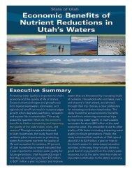 Economic Benefits of Nutrient Reductions in Utah's Waters