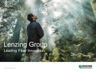 Download presentation - Lenzing Innovation