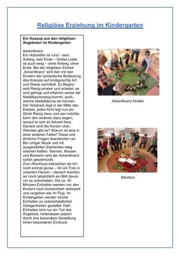 Ausgabe 1/3 Dezember 2012/13 2. Teil - Kindergarten
