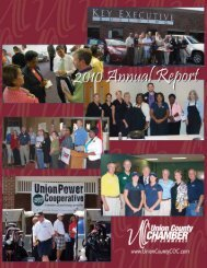 Untitled - Union County Chamber of Commerce