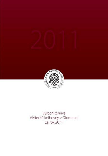 2011 - Vědecká knihovna v Olomouci