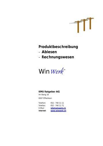 Ablesen - WinWerk