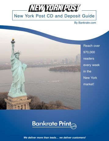 New York Post CD and Deposit Guide